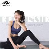 Calças apertadas da ioga das calças longas de Legging para senhoras