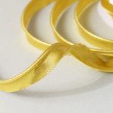 il nastro diagonale metallico del grippaggio dell'oro di 15mm ha flangiato condutture di inserzione