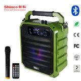 Shinco 8 pouce de haut-parleur portable professionnel haut-parleur Bluetooth avec la lumière