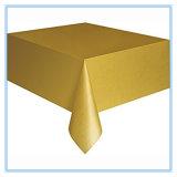 Tampa de tabela plástica 54 do ouro de '' retângulo X 108 ''