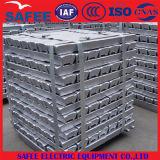 Lingote de aluminio de China A7, lingote 99.7% del Al para la construcción