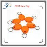 Бирка горячей гостиницы КГц RFID Keyfob таможни 125 сбывания пассивной ключевая