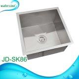 Jd-Sk86 retangular de alta qualidade Taça único escovado pia de cozinha
