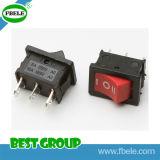 Interruptor basculante T85 para o interruptor oscilante de miniatura lareira elétrica