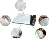 Мешок упаковки курьера почтоотправителя изготовленный на заказ белого цвета поли
