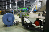 Las bolsas de plástico de la basura de la película de la refrigeración por agua PP que granulan la máquina