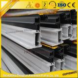 Los fabricantes de China de aluminio anodizado de partición de la Oficina de perfil de extrusión de aluminio