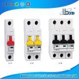 Mini disjoncteur de rupture élevé MCB de la capacité L7 1A 2A 3A 4A 5A 6A 10A 16A 20A 25A 32A 40A 50A 63A