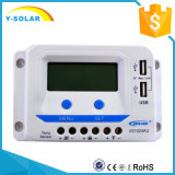 Epever 10A 20A 12V/24V Sonnenenergie/Panel-Controller Dual-USB/2.4A Vs1024au