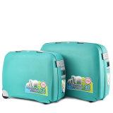 ヨーロッパのトロリー袋4の車輪のトロリー袋の荷物セットに販売する大きい容量PPの荷物一定Nl415