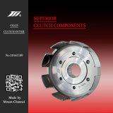 ホンダMotoのために外8つのスロットクラッチが付いている高品質Cg125 6ねじ(6つのコラム、6個のナット)