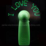 Ventilador del mensaje de encargo LED programable con Publicidad Logo (3509)