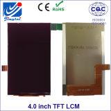 Affissione a cristalli liquidi mobile di WVGA 4.0inch Tn TFT Zte