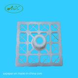 Soporte de tubo de alta resistencia de la base del PE del embalaje 6inches 380*380 del celofán hecho en China