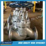 DIN industrial de la válvula de globo con brida Wcb