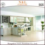 Armoires de cuisine modernes et économiques de l'érable foncé des armoires de cuisine