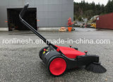Hand-Push la spazzatrice manuale senza cordone di Sytle 92cm largamente/spazzatrice del pavimento/spazzatrice del residuo/spazzatrice della polvere