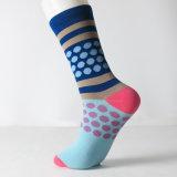 Высшее качество мужчин красочные и с радостью силы хлопок платье носки