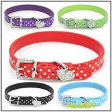 Polka Dot Collier pour chien Pet Products Pendentif coeur
