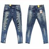 Pantalones vaqueros de Stardard Wshing de la manera de los hombres altos (MYB02)