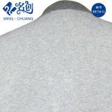 灰色の新式の長い袖の緩い女性ブラウス