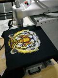 Малый принтер одежды принтера тенниски цвета черноты формы