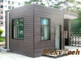 Revêtement extérieur décoratif de mur du panneau de mur de matériau de construction WPC