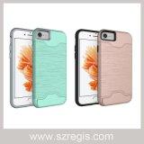 Multifunktionsmetallbeschaffenheits-Zugnummer-Shell für Fall iPhone7