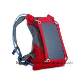 太陽電池パネルが付いている上昇のキャンプのバックパック袋をハイキングする連続した水和水バックパック
