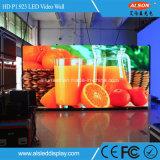P1.923 pantalla de interior a todo color del alquiler HD LED para la demostración