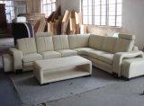 Sofá moderno do couro genuíno da mobília com o sofá secional da forma de U para a mobília chinesa