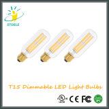 Lampadine del filamento della lampadina LED di Stoele T15/T45 Dimmable Edison