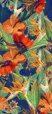 Alto-Estirar la tela colorida de la impresión para el traje de baño (ASQ073)