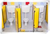 子供HPLの区分のための美しい小型の洗面所部の区分