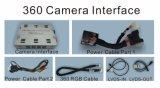 Interfaccia posteriore della macchina fotografica 360 per Audi 2010-2017 A6/S6/Q7/A8/A4/A5/Q5/A1/Q3
