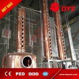 línea destilador de la maquinaria de la producción de la cerveza del equipo de la cerveza 100L de la vodka