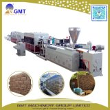 Imitación de PVC revestimiento de ladrillo de piedra de la Junta de patrón de la máquina extrusora de plástico