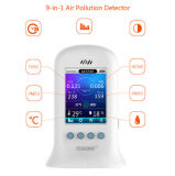 Détecteur d'intérieur portatif de Hcho d'appareil de contrôle de qualité de l'air du traitement Pm2.5 d'analyseur de gaz
