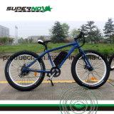 Bicicleta elétrica dianteira LED Light com pneu gordo