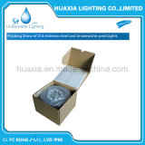 Wasserdichtes 12V vertieftes Unterwasserlicht des Edelstahl-LED