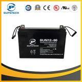 Armazenamento de painéis solares de alta qualidade 12V 90ah Lead Acid AGM Battery