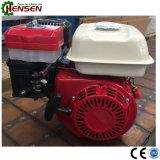 Solo motor de gasolina refrigerado por agua del movimiento del cilindro cuatro