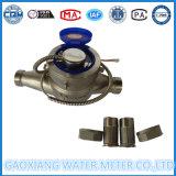 Contador del agua multi del pulso del acero inoxidable del jet
