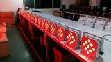 段階のための防水無線&Batteryの&DMX制御9*10W RGBW 4in1 LED同価ライト