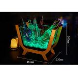 Benna di ghiaccio luminosa trasparente dell'acrilico LED della barra creativa