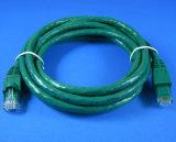100фт кабель UTP кат. 6 500МГЦ соединительный кабель T568B UL зеленого цвета (32-N2103-HD)