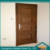 Clássico de luxo porta de entrada de madeira sólida das Casas
