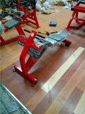 専門の体操装置の腹部のベンチ、ボディービルをやる練習機械