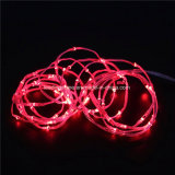 Die 20 LED-Batterie-Lassen roter Hochzeits-Dekor feenhaftes wasserdichte das Zeichenkette-Licht-super feste feenhafte Licht laufen