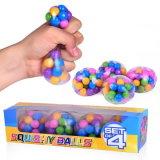 DNAの分子の圧力の球-圧力救助の球の圧力のSquishyおもちゃ絞る-自由な感覚的なゴム製球